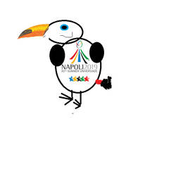 Naples 2019 mascot idea by abbyelizabeth2007