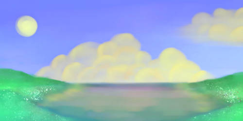 Krita: Simple Landscape by vt2000