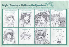 Pencil: Style Exercices Meme by vt2000
