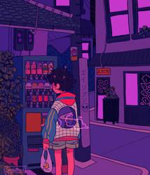 alone by Snowiitea