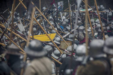 In the Thick of the Battle by MedievalJunkie