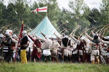 Hail of Arrows by MedievalJunkie