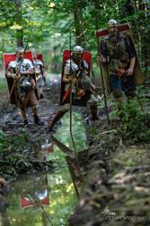Roman Patrol by MedievalJunkie