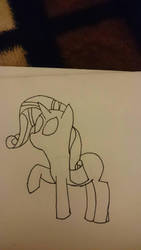 rarity drawing test by thevideogameguy95