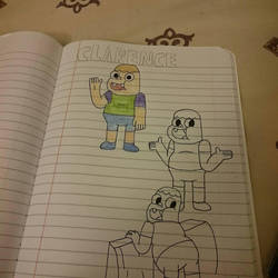 preview of clarence drawing lel by thevideogameguy95