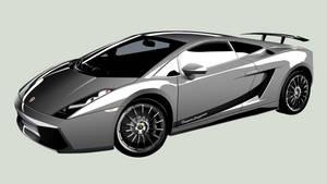 Lamborghini SuperLeggera by Furyo-kun