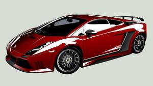 Lamborghini customized by Furyo-kun