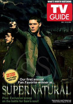 SN TV Guide Cover - Fanmade 1 by jessicarae24