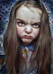 Malice hates wonderland..redo by Harpyimages
