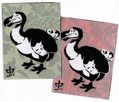 dodo stickies by hexasketch