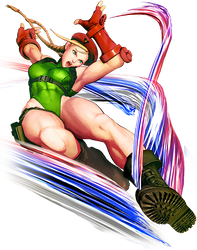 Street Fighter 5 Cammy by hes6789