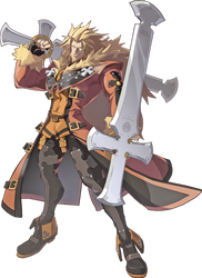 Guilty Gear Xrd Revelator - Leo Whitefang by hes6789