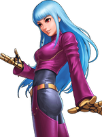 King of Fighters 98 UM OL Kula Diamond by hes6789