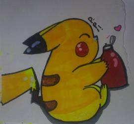 Pikachu by CartoonistNerd