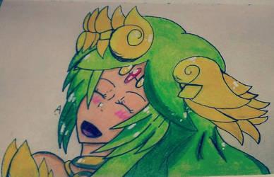 Lady Palutena by CartoonistNerd