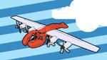 Go Lobsterplane by troped