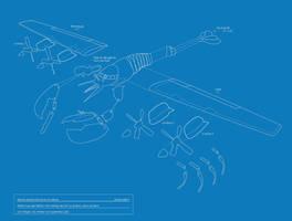 Lobsterplane Blueprint by troped