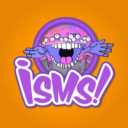 Isms Card Game Logo by troped