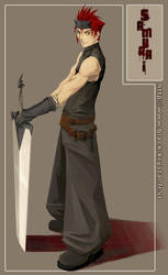 Swordsman by Aelwine