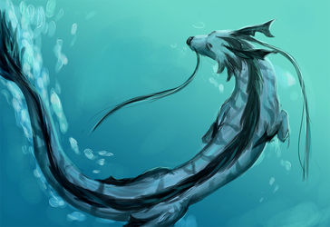 Deep blue by Leykisha