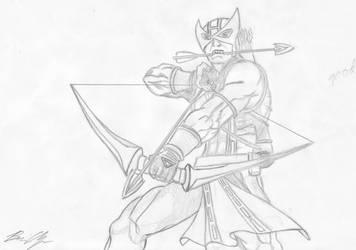 Hawkeye by Pilion
