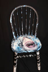 Shark Chair: Full View by FollowtheRiver