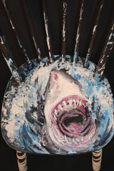 Shark Chair: Close Up by FollowtheRiver
