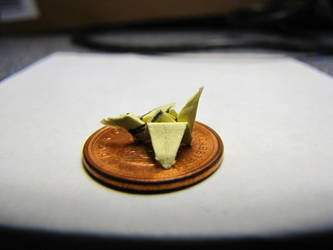 Tiny Paper Crane by Kaatman