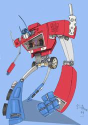 optimus prime by spurs06