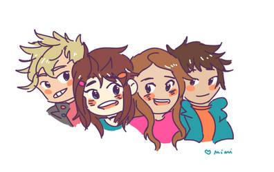 FRIENDS by Hello-Pixel