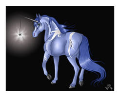 A Light in the Dark by harlequin-wondercat