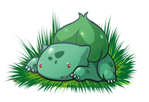 Bulbasaur by rabbitsontherun