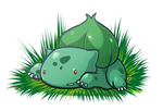Bulbasaur by rabbitsontherun