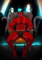 Diato In His Chair by rabbitsontherun
