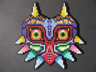 Perler Bead Majora's Mask by EP-380