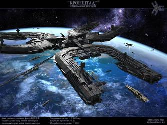 Orbital fortress by SmirnovArtem