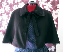 Gothic Lolita Cape by princessmoony