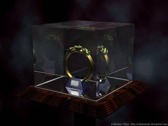 A Modern Vilya by calamarain