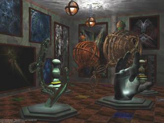 Dark Wonderland - Tweedles by calamarain