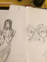 Sketching up! by Jax-81