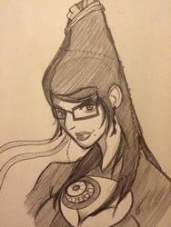 Bayonetta Sketch by Jax-81