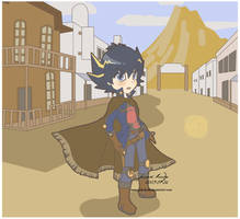 the yusei cowboy by pink-hudy