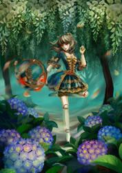 LOL - Rococo Orianna by JoFang-Art