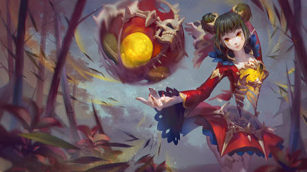 LOL Fans Art : Eastern Risen - Orianna by JoFang-Art