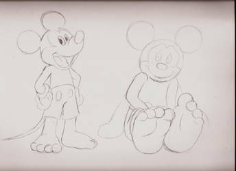 Mickey Doodles by ChaosGreiga