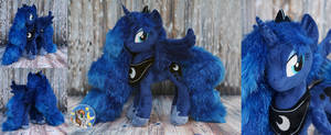 Princess Luna with sparkle fur by Essorille