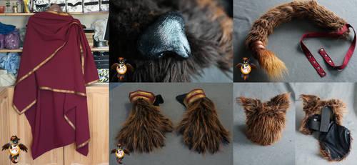 Khajiit costume - details by Essorille