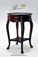 1:6 scale Oval Lamp or Side Table by regentminiatures