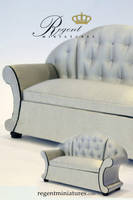 French Chaise by regentminiatures