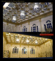 1:6 scale house project for Barbie, Hot Toys, FR's by regentminiatures
